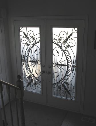 Toronto Wrought Iron Stained Glass | Doors Inserts, Iron Doors ...
